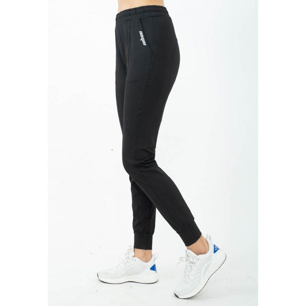 quần jogger nữ logo túi
