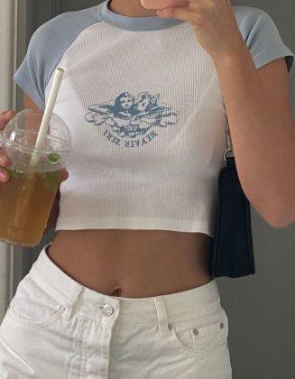 áo nữ croptop thể thao